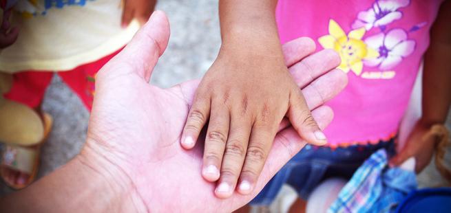 Uma corrente de amor no Brasil pelos mais necessitados