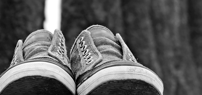 O sapato nº 38