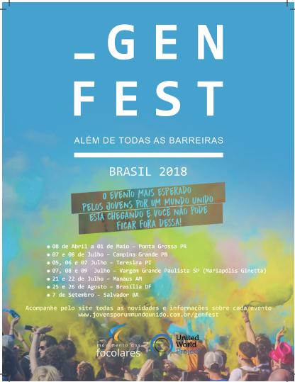 #Genfest2018 | Evento em Salvador