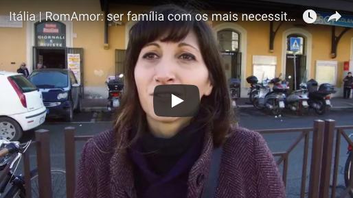 Itália | RomAmor: ser família com os mais necessitados