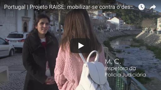 Portugal | Projeto RAISE: mobilizar-se contra o desemprego
