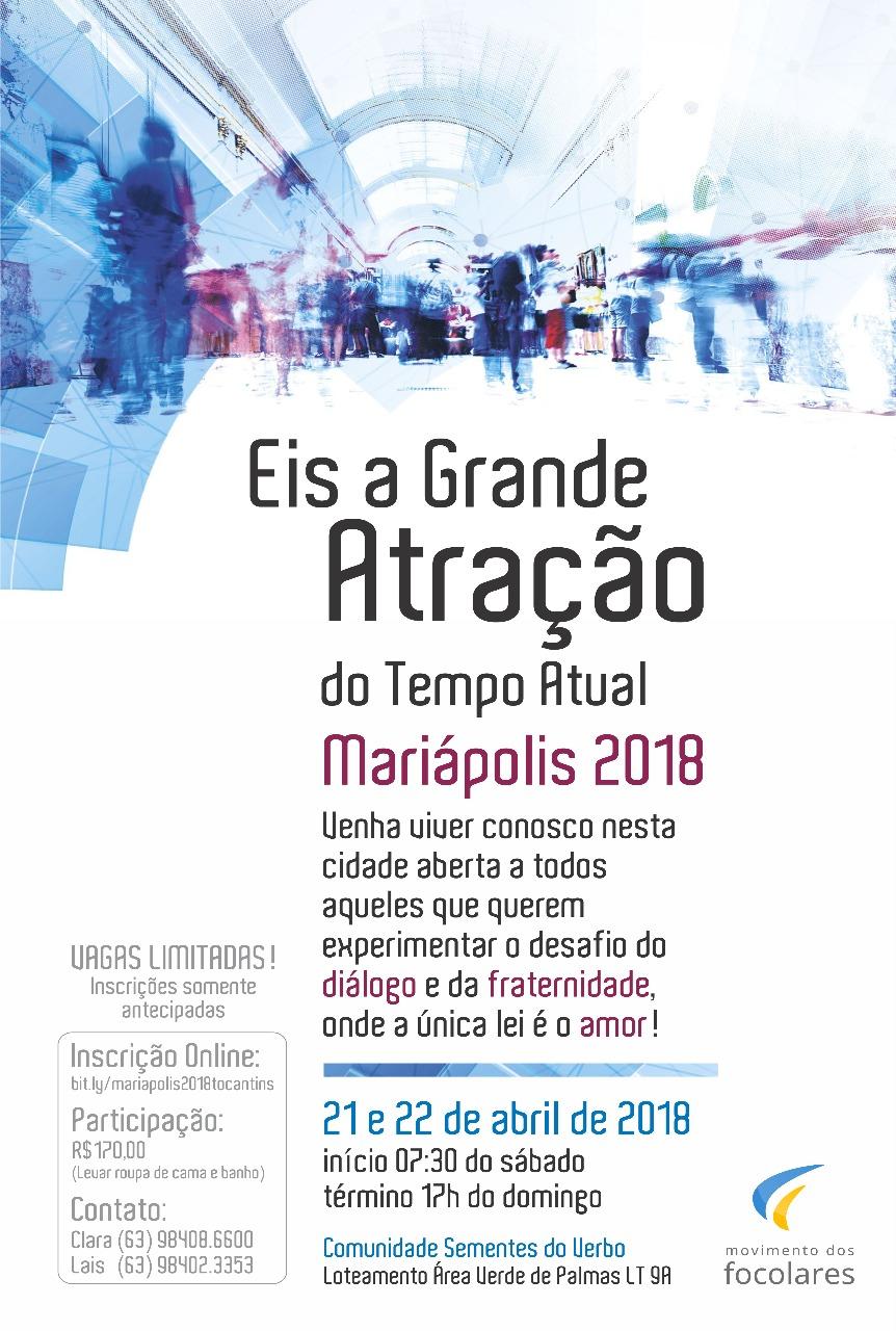 Mariápolis em Palmas – TO