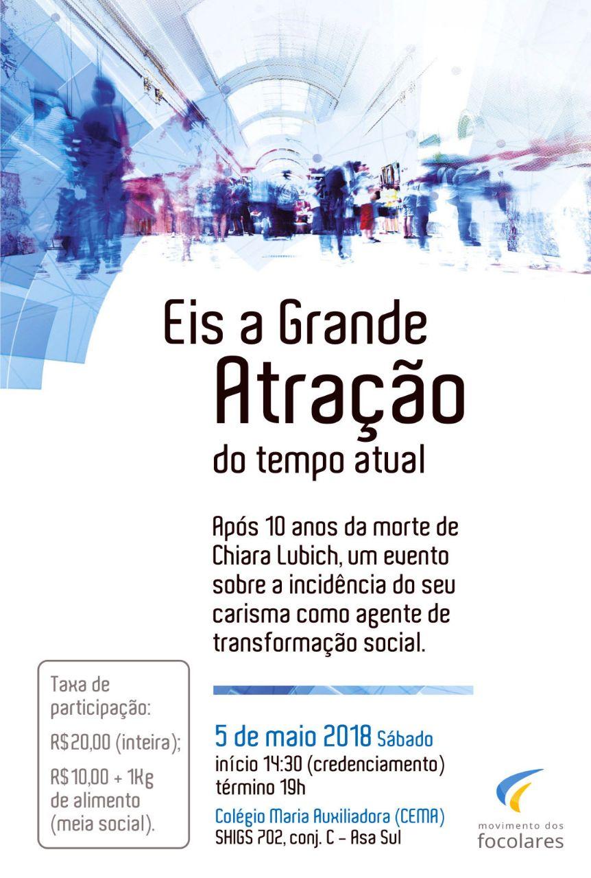 Jornada em Brasília #10ChiaraLubich