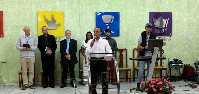 Encontro entre irmãos na Semana de Oração pela Unidade dos Cristãos em Divinópolis