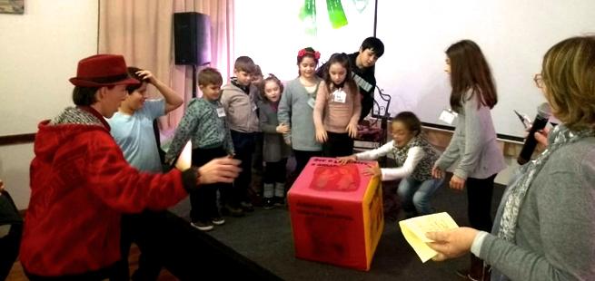Jogos e muitos atos de amor na Mariápolis Kids de Imigrante