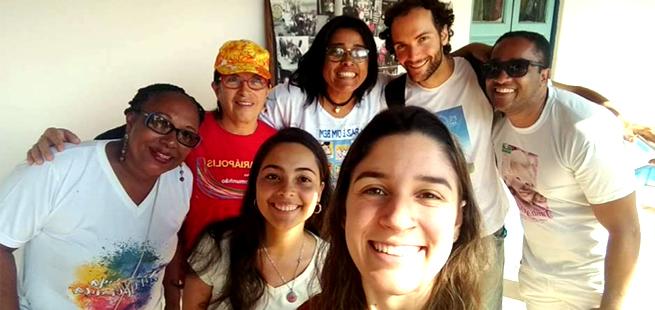 Dado da Paz é protagonista de ações sociais em Salvador