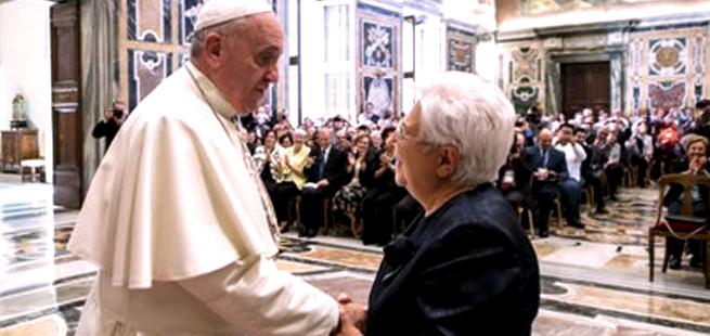 O apoio dos Focolares ao Papa