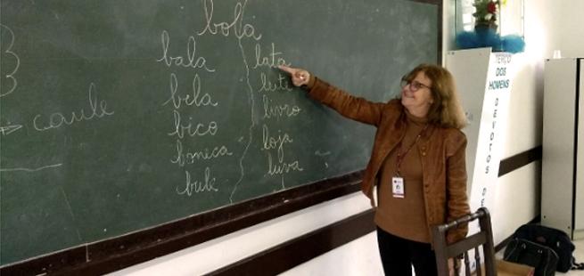 Muito mais do que uma professora de português para os haitianos