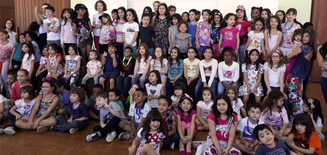 Focolares realiza congresso para 200 crianças na Mariápolis Ginetta