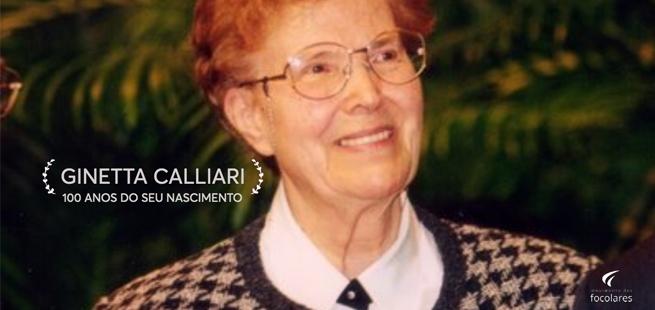 Centenário de nascimento de Ginetta Calliari