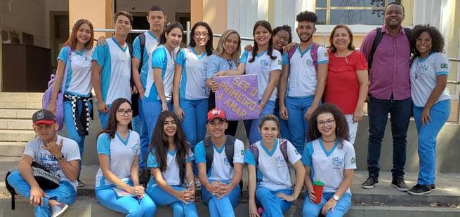 Projeto Dado da Paz transforma escola estadual em Teresina