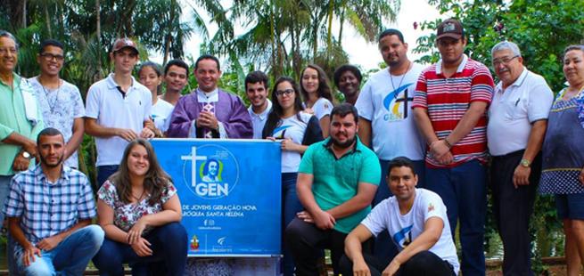 Jovens de Santa Helena de Goiás encerram 2018 com um AcampaGen