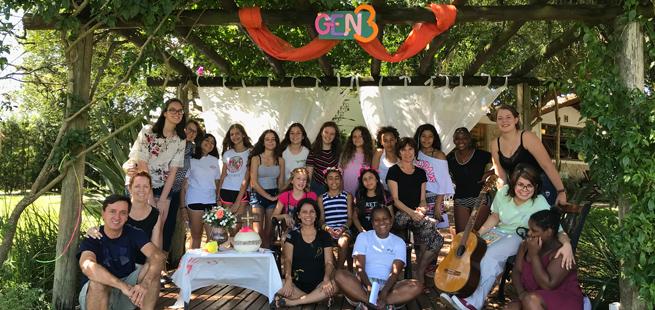 Encontro de Carnaval no RS: a vida colorida pelo Evangelho