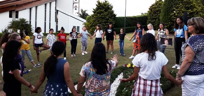Animação e vivência na Mariápolis Ginetta marcaram escola nacional para adolescentes dos Focolares