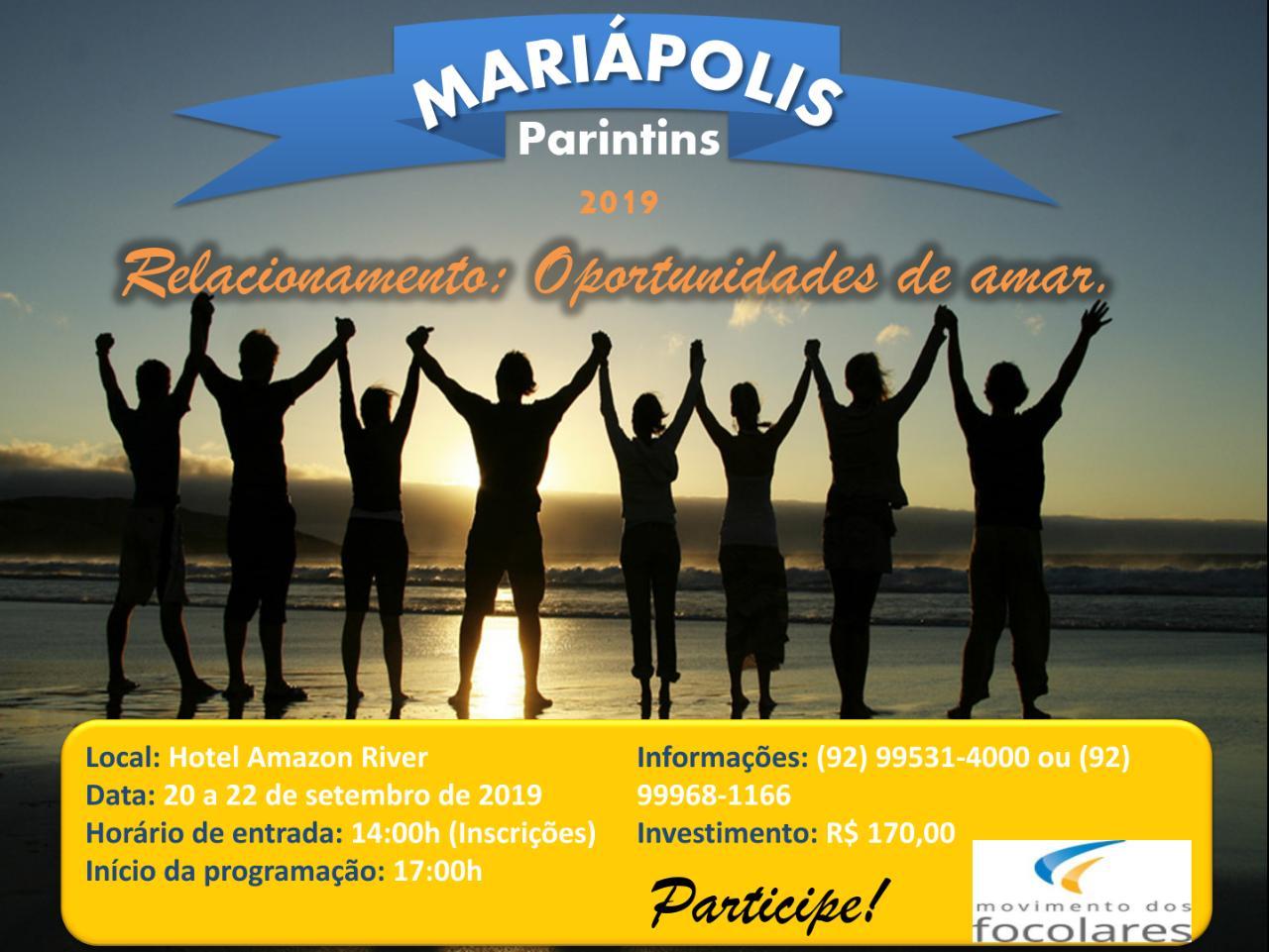 Mariápolis em Parintins 2019