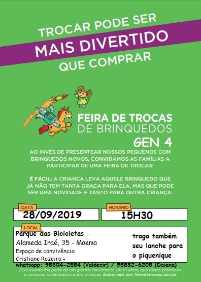 Feira de Troca de Brinquedos em São Paulo – Gen4