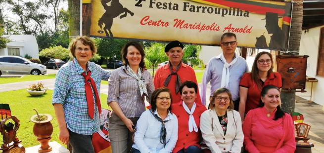 Comunidade de São Leopoldo realiza a 2ª festa Farroupilha