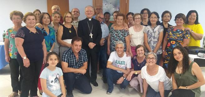 Uma visita especial para a comunidade dos Focolares em Juiz de Fora