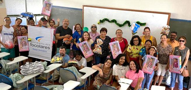 Natal Solidário já é tradição da comunidade dos Focolares em Itabuna, BA