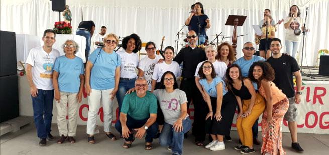 Focolares participa de encontro anual dos leigos em São Gonçalo, RJ